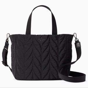 kate spade New York Ellie Small Womens Tote Black